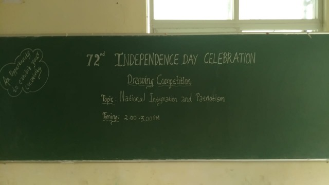 INDEPENDENCE DAY CULTURALS
