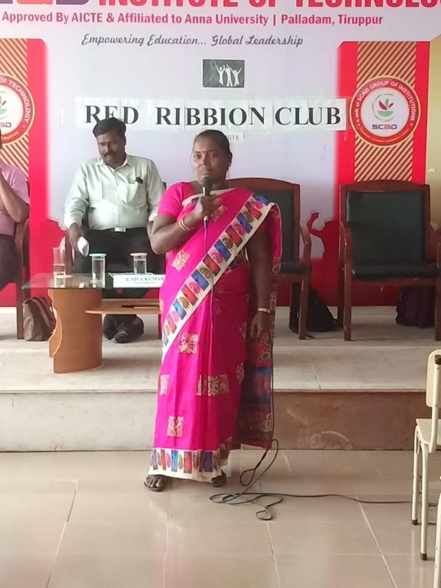 TAMILNADU STATE AIDS CONTROL SOCIETY - RED RIBBON CLUB ACTIVITY PROGRAMMEE