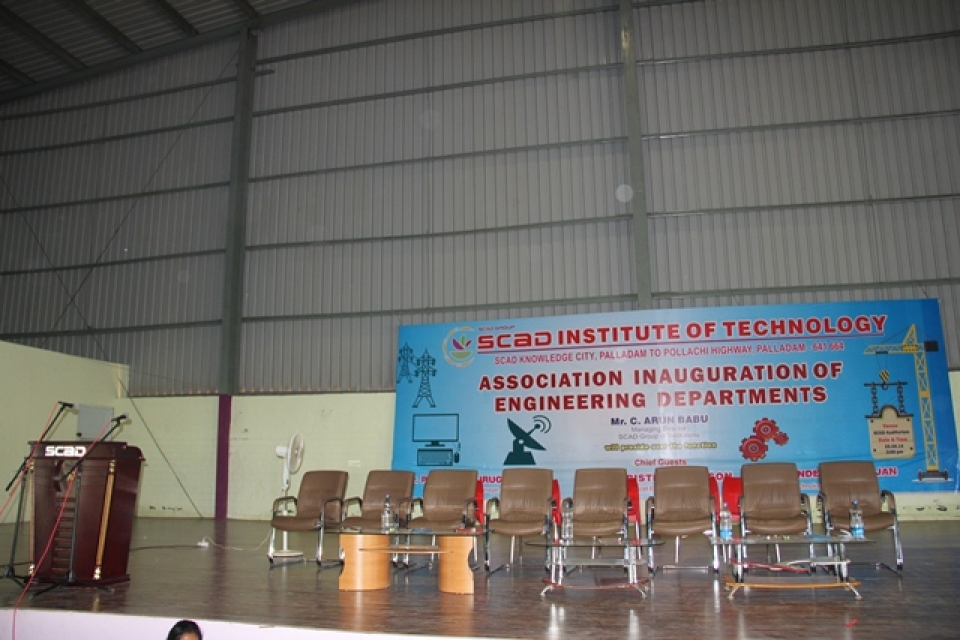 Association Inauguration of Engineering Departments